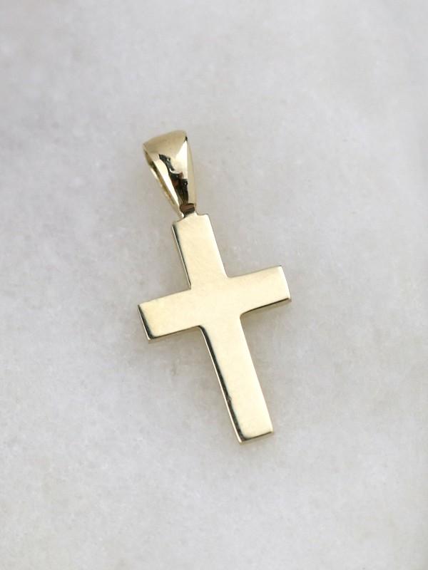 Classic Gold Cross Pendant