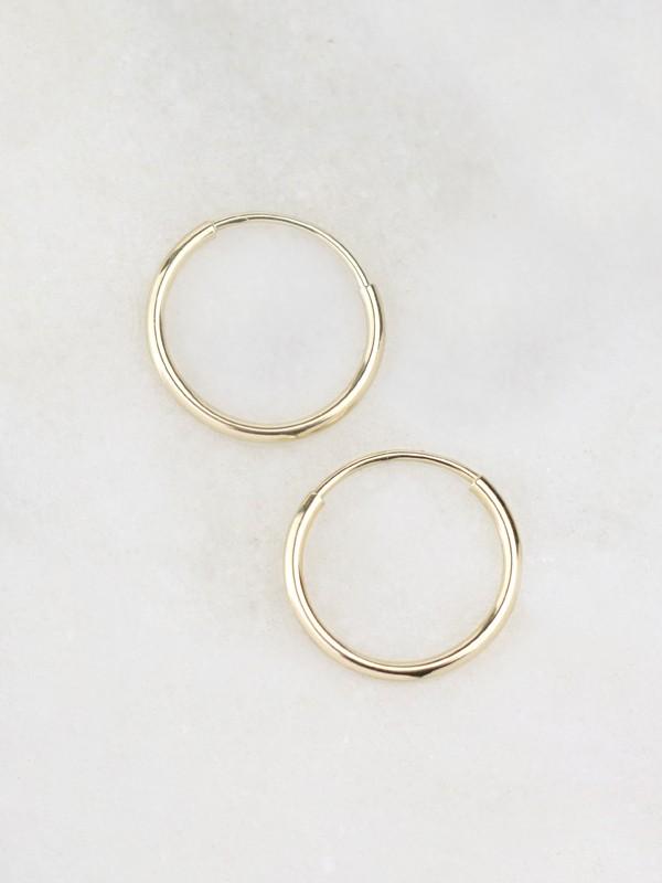 11MM Infinity Hoop Earrings